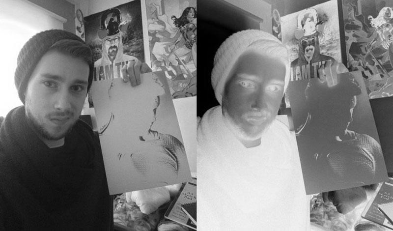negative drawings by liam york 6 Trippy Negative Pencil Drawings by Liam York