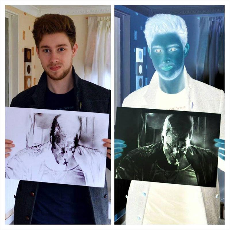 negative drawings by liam york 9 Trippy Negative Pencil Drawings by Liam York