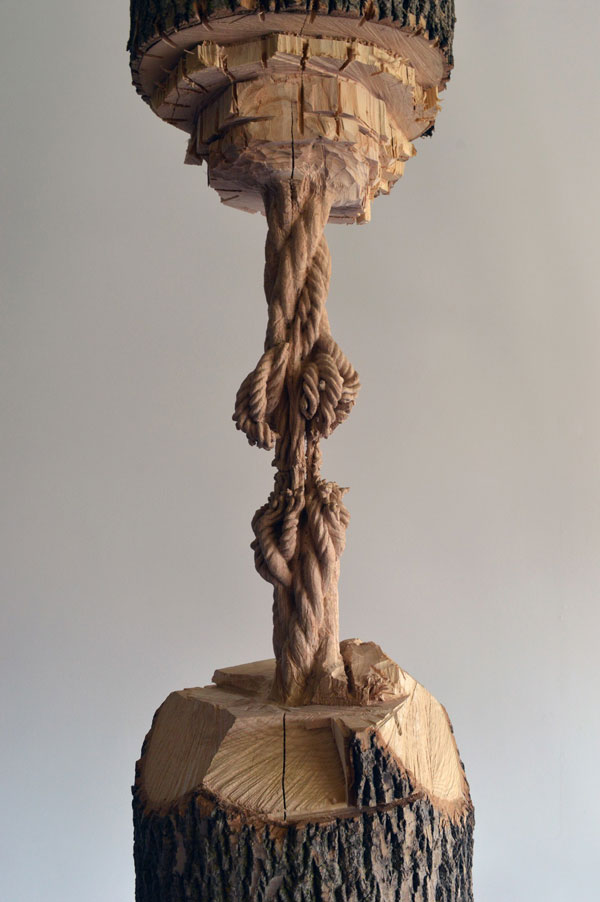 schrodingers wood by maskull lasserre 1 This Was Carved from a Single Ash Tree Trunk