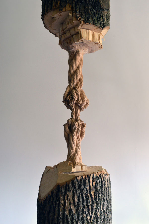 schrodingers wood by maskull lasserre 10 This Was Carved from a Single Ash Tree Trunk
