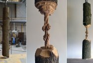 This Was Carved from a Single Ash Tree Trunk