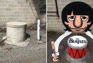 This Street Artist is Making People Look Twice at Things They Walk Past Each Day