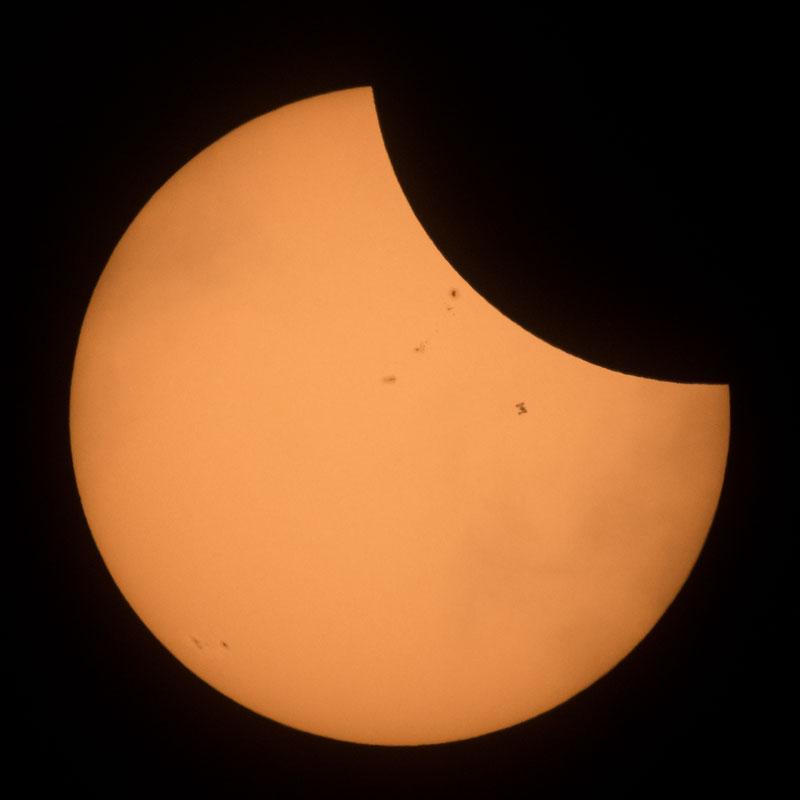 2017 eclipse photos nasa 3 NASA Has Already Released An Epic Gallery of Eclipse Photos Including an ISS Photobomb