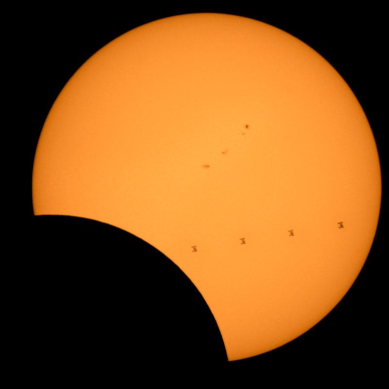 2017 eclipse photos nasa 6 NASA Has Already Released An Epic Gallery of Eclipse Photos Including an ISS Photobomb