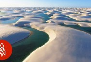 From January to June this National Park of Dunes Turns Into Crystal Clear Lagoons
