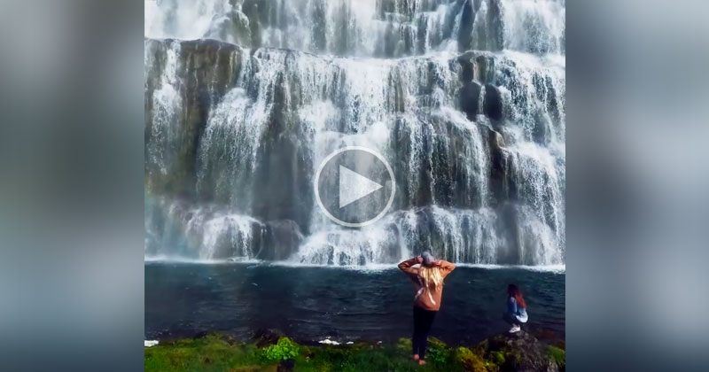 Dynjandi Might Be the Most Beautiful Waterfall in Iceland (Wait for the Zoom Out)