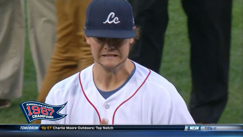 Ceremonial First Pitch Goes Horribly Wrong