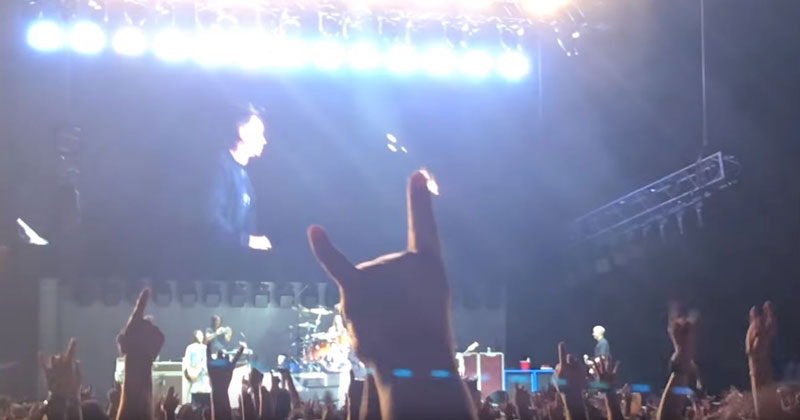 The Foo Fighter Brought Rick Astley On Stage and You Can Guess What Happens Next