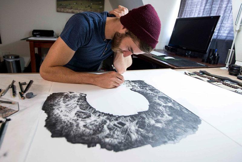 hyper realistic pencil drawings by jono dry 2 These Giant Pencil Drawings by Jono Dry are INSANE