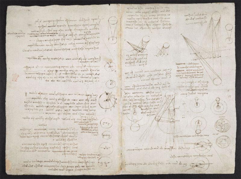 leonardo da vinci notebook 10 The British Library Has Fully Digitized 570 Pages of Leonardo da Vincis Visionary Notebooks
