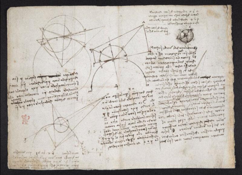 leonardo da vinci notebook 24 The British Library Has Fully Digitized 570 Pages of Leonardo da Vincis Visionary Notebooks
