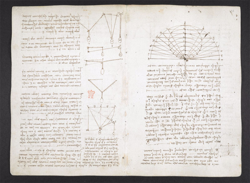 leonardo da vinci notebook 5 The British Library Has Fully Digitized 570 Pages of Leonardo da Vincis Visionary Notebooks