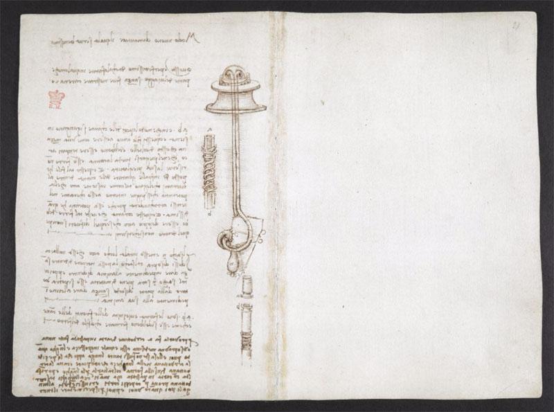 leonardo da vinci notebook 6 The British Library Has Fully Digitized 570 Pages of Leonardo da Vincis Visionary Notebooks