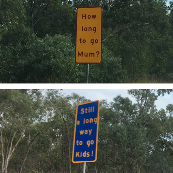 trivia road signs australia 1 There are Roads in Australia that are So Boring they Have Trivia Signs to Keep Drivers Alert