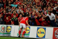 17-Year-Old Sub Scores Game Winner for Wales Right After Crowd Sings National Anthem