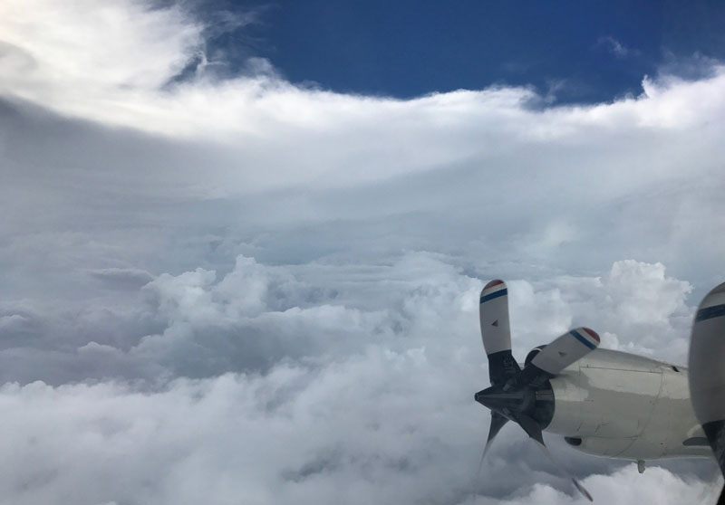 NOAA Hurricane Hunters Fly Into the Eyes of Storms to Gather Lifesaving Data. This is Irma