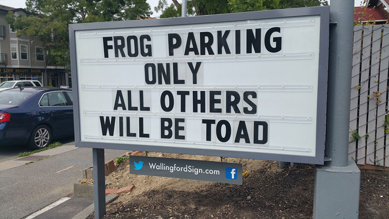 funny seattle gas station sign wallingford 11 Local Seattle Gas Station Sign Has the Best Messages Ever (21 Photos)