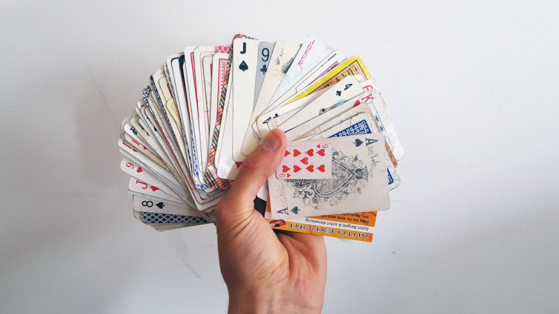 guy completes full playing card deck from randomly found cards around the world 2 Guy Completes Full Playing Card Deck from Randomly Found Cards Around the World