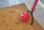 Liquefying Sand By Blowing Air Through It