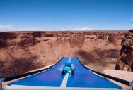 Slip 'N Slide BASE Jumping