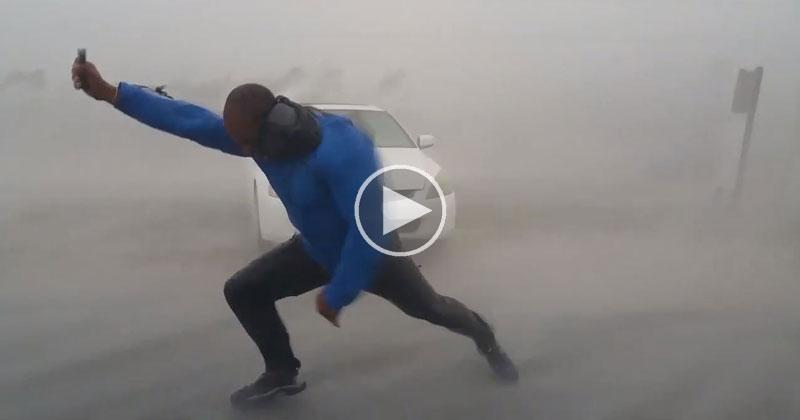 Mad Meteorologist Ventures Into Hurricane Irma's Eyewall to Measure Its Wind Speed