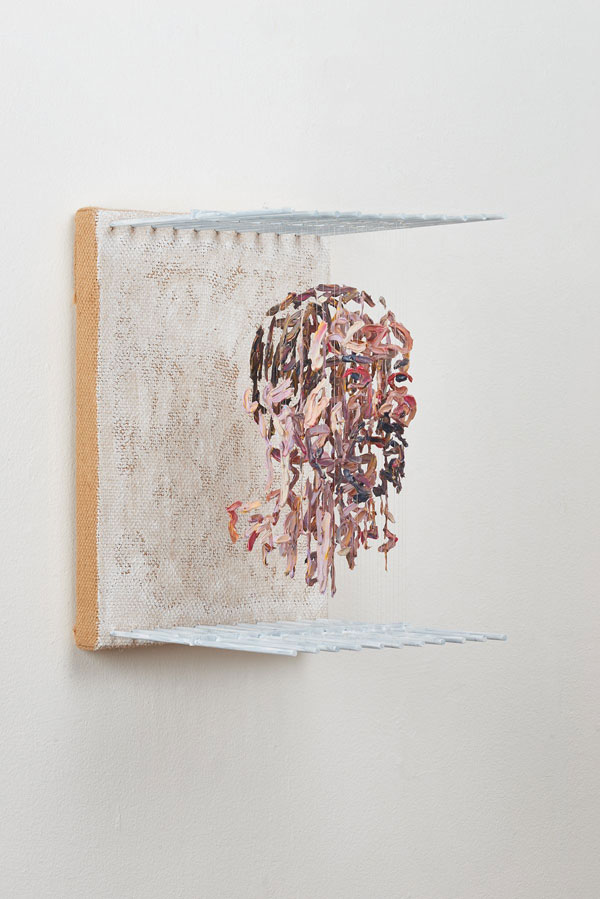 3d portraits made from suspended paint strokes by chris dorosz 2 Amazing 3D Portraits Made from Suspended Paint Strokes