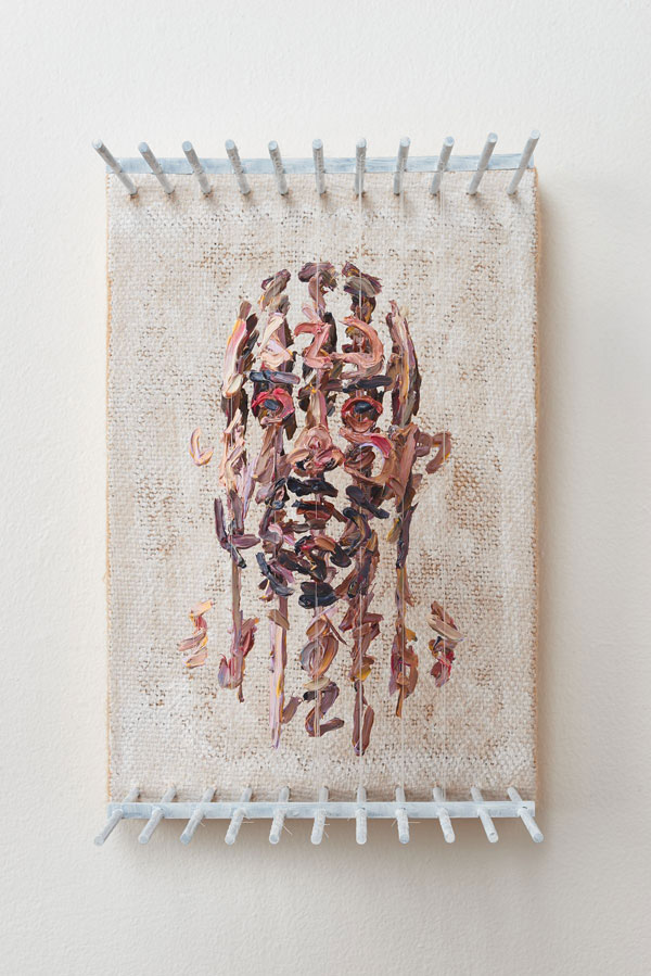 3d portraits made from suspended paint strokes by chris dorosz 3 Amazing 3D Portraits Made from Suspended Paint Strokes