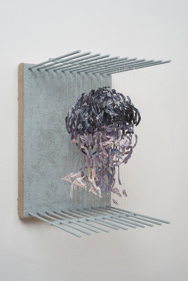 3d portraits made from suspended paint strokes by chris dorosz 8 Amazing 3D Portraits Made from Suspended Paint Strokes