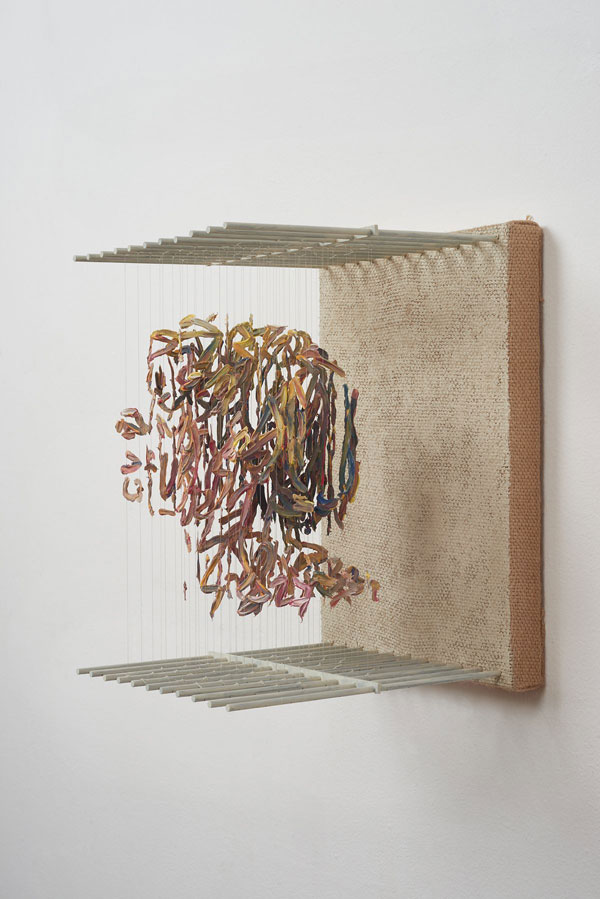3d portraits made from suspended paint strokes by chris dorosz 9 Amazing 3D Portraits Made from Suspended Paint Strokes