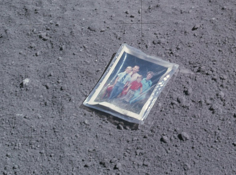 astronaut charlie duke family photo on the moon 2 The First and Only Family Photo on the Moon