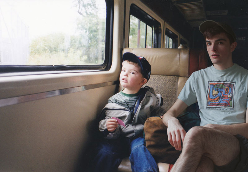 conor nickerson photoshops himself into his childhood photos 2 Artist Photoshops Himself Into His Childhood Photos (11 Pics)