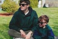 Artist Photoshops Himself Into His Childhood Photos (11 Pics)