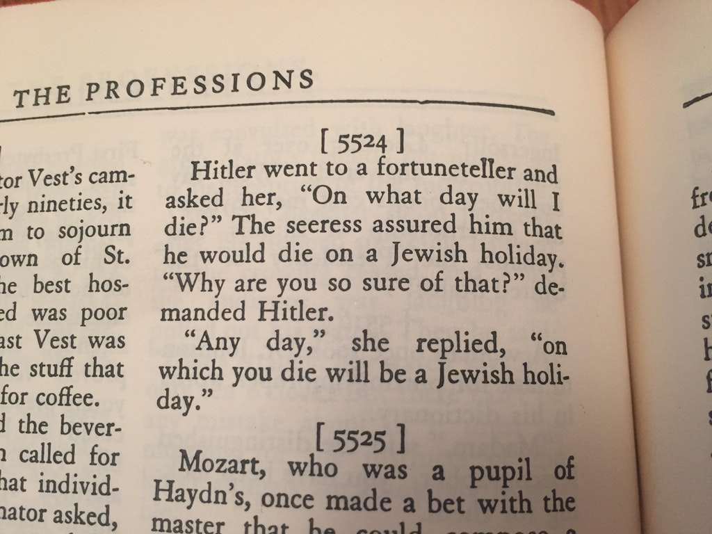 hitler joke from 1940 reddit Guy Finds Joke Book from 1940 with a Hitler Reference