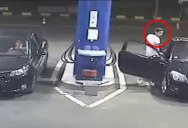 Idiot Refuses to Stop Smoking at Gas Pump So Employee Takes Matters Into Own Hands
