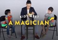 Kids Meet a Magician