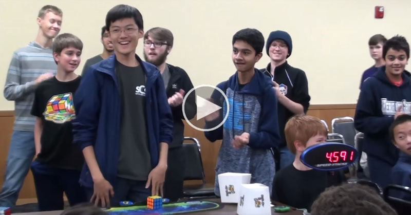 SeungBeom Cho Breaks Rubik's Cube World Record with 4.591-Second Solve
