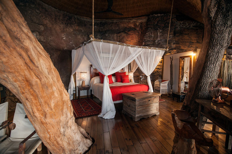 tongabezi lodge tree house room zambia 1 The Tree House at this Victoria Falls Safari Lodge Looks Beautiful