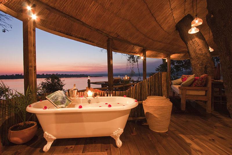 tongabezi lodge tree house room zambia 6 The Tree House at this Victoria Falls Safari Lodge Looks Beautiful