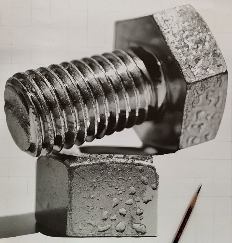 hyper realistic pencil drawings by japanese artist kohei ohmori 15 Highly Detailed Close Ups of Amazing Hyper Realistic Pencil Drawings