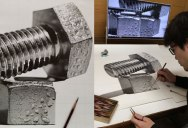 Highly Detailed Close-Ups of Amazing Hyper Realistic Pencil Drawings