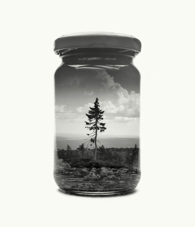 jarred and displaced by christoffer relander 13 Bottled Memories of Childhood Landscapes Using Double Exposure Photography