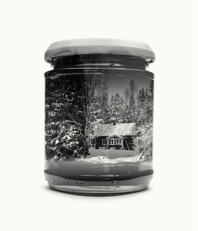 jarred and displaced by christoffer relander 9 Bottled Memories of Childhood Landscapes Using Double Exposure Photography