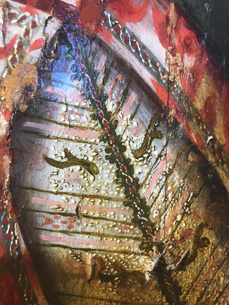 removing 200 years of varnish from a painting 1 Removing 200 Years of Varnish from a Painting Looks Deeply Satisfying