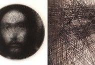 Renaissance Portraits Made From Single Thread on Circular Loom