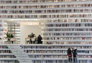 Incredible 'Ocean of Books' Library Opens in China with Space for 1.2m Titles
