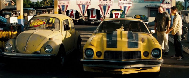 transformers vw beetle tribute to original 10 Obscure Movie Details You Probably Missed or Never Knew