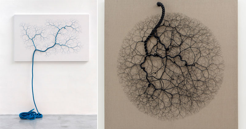 Unravelling Ropes Into Fractal-Like Patterns (10 Photos)
