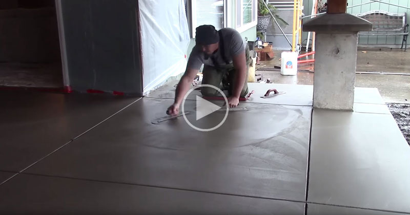 This Video on Concrete Finishing Will Give You an Appreciation for Craftsmanship