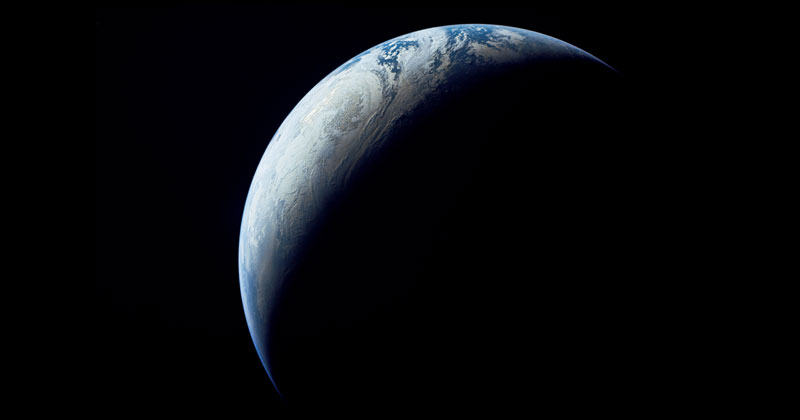 Picture of the Day: Earth Crescent, 1967