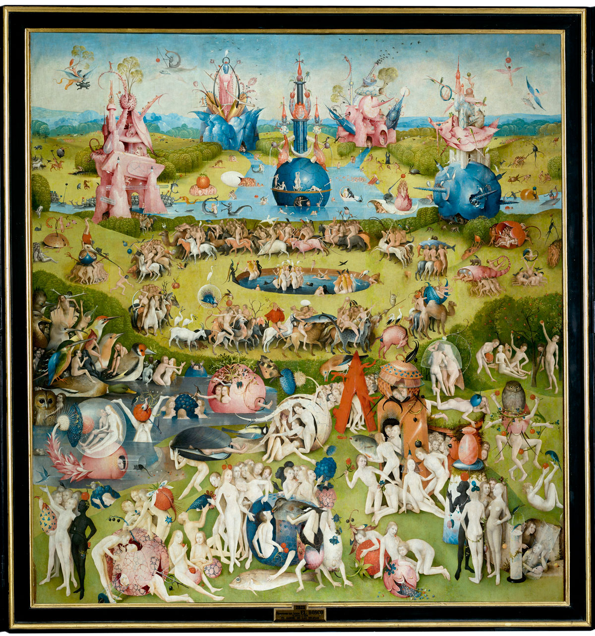 hieronymus bosch   the garden of earthly delights 1 Paradise: A Modern Day Interpretation of the Garden of Earthly Delights
